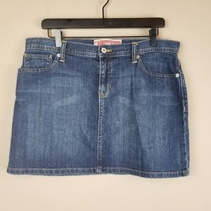 Gap Jeans Denim Skirt Size 10